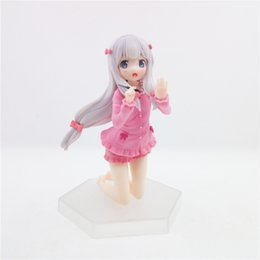 Juguetes Sexy Baratos-Japanese Anime Comic Teacher WAVE Yarn Mist Sexy Girl Figura de Acción 13 CM PVC Hot Toys PABIToyFirm