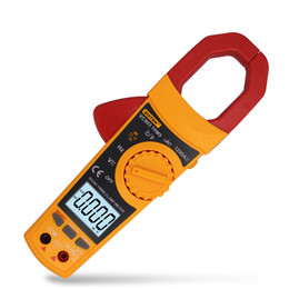 Ingrosso Digital Clamp Meter Digital Multimeter Ammeter AC e DC Temperatura della temperatura della resistenza TABOLA ZOTEK AC / DC Misuratore di morsetto VC903
