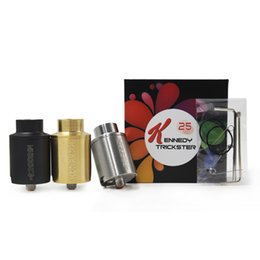 $enCountryForm.capitalKeyWord UK - E Cigarette Kennedy 25 Trickster RDA Clone Rebuildable Atomizer 25mm wide drip tip rda Fit E Cigs Box Mod Vape pen DHL free