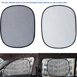 $enCountryForm.capitalKeyWord Canada - Car sun visor sunscreen insulation curtain block light Front Rear  side shades anti UV windshield window aluminum foil the folding design