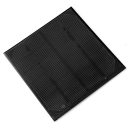 China High Efficiency! 2W 6V 330MA Solar Cell Monocrystalline Solar Panel Module DIY Solar Charger115*115*3mm Free Shipping suppliers