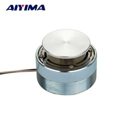 7afae4ae9 vibration speaker wholesale 2018 - Wholesale- AIYIMA 1pcs Full Range Speaker  20W 4ohm 44mm Audio