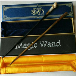 China Fantastic Beasts And Where to Find Them New Cosplay Wand Magical Wands Cosplay Staves Wands Movie Accessories Christmas Gift Magic Toys cheap beast cosplay suppliers