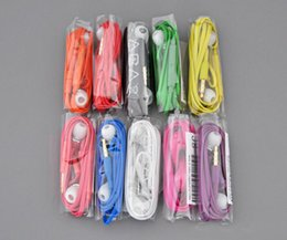 Discount samsung s5 headphone - Colorful In-Ear Earphone Headphone 3.5mm Headphones Headset with MIC Remote Volume Control for Samsung S3 S4 S5 S6 S7
