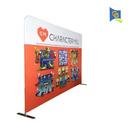 Chinese  Portable 10ft Wide Straight Tension Fabric Display Banner Stand,Wedding Backdrop,Trade Show,Exhibition Booth manufacturers