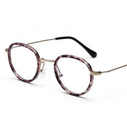 Myopia Computer NZ - Wholesale- TR90 Artistical Eyewear 2016 Vintage Plain Women Men Computer Optical Glasses Myopia Eyeglasses Frame Brand Design oculos