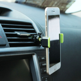 $enCountryForm.capitalKeyWord Canada - Best Universal Mini Car Air Outlet Holder Stents Vent Mount Support For Cell Phone Mobile Car Phone Holder Car Air Vent