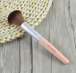 Wholesale Pink Oval Makeup Brush Set Best Quality Foundation Powder Blush Brush Gift Makeup tool