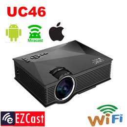 $enCountryForm.capitalKeyWord NZ - Wholesale-2016 new wireless connection 1200lumens support android,iOS,Windows 8.0 and above UC46 wifi mini portable projector Beamer ATCO