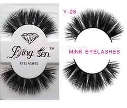 $enCountryForm.capitalKeyWord Canada - Y-26 thick mink hair eye lashes Mink Natural False dense Fake Eyelashes fake eyelashes Plastic Cotton Stalk False Eyelash