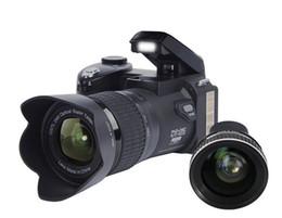 HD Protax Polo D7100 aparat cyfrowy 33mp rozdzielczość Auto focus Profesjonalny SLR wideo 24x Zoom optyczny z trzema obiektywami