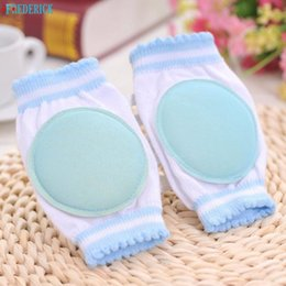 Baby Crawl Pads Canada - Wholesale-  Gifts Baby Sports Knee Pad Protector Baby Safety Crawling Elbow Cushion Toddlers Knee Pads Protector