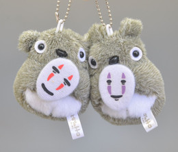 "$enCountryForm.capitalKeyWord Canada - Top New 2Pcs Lot 3"" 8CM My Neighbor Mask Totoro Soft Anime Collectible Plush Dolls Keychains Pendants Gifts Stuffed Toys"