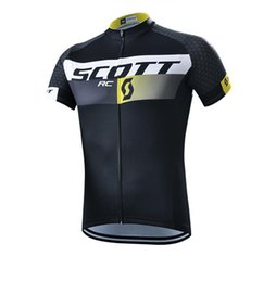 online shopping SCOTT Pro Team Cycling Jerseys bicycle Clothing Racing Bike Sportswear short sleeve maillot Ropa Ciclismo MTB Bike mountain wear C0118