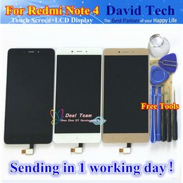 Hongmi redmi note online shopping - High Quality LCD Display Digitizer Touch Screen Assembly For Xiaomi Redmi Note Hongmi Note4 Cellphone