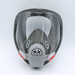 $enCountryForm.capitalKeyWord NZ - Wholesale- Full face gas Mask Organic Vapor Cartridge Respirator Face Mask for Painting Spraying Anti-dust formaldehyde Fire For 6800