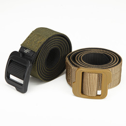 Inner Belt Canada - High Quality Cheap US Army Double Sides Tactical Duty Training Belt,Quick Dry Nylon Belt Adjust with Carbon-Fiber Buckle
