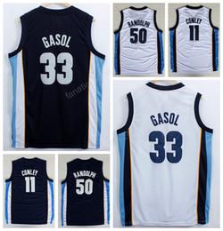 37c687ced965 ... Man 33 Marc Gasol Basketball Jerseys Cheap 11 Mike Conley 50 Zach  Randolph Jersey Navy Blue ...