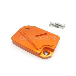 $enCountryForm.capitalKeyWord UK - Motorbike Front Brake Fluid Reservoir Cover Cap For KTM DUKE 125 200 390 Sport Bike Orange Color