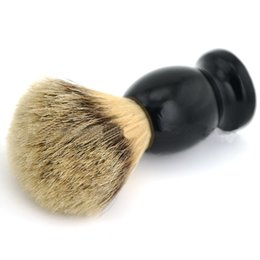 Wholesale Shaving Brush with Badger Hair Wood Handle Men s Shave Brush Cleaning Hair Brushes Sweeping Brush