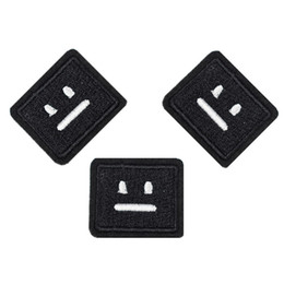 $enCountryForm.capitalKeyWord Australia - Diy patches for clothing iron embroidered Expression patch applique iron on patches sewing accessories badge stickers on clothes DZ-157