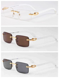 Para OnlineMarcos De Gafas Blancas Blanco Sol Hombres mvN0w8n