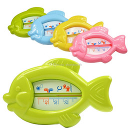 Baby Floating Fish Water Thermometer Plastic Float Bath Tub Sensor 10-50C L00093 FASH on Sale