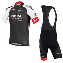 fb0ba6438 BORA TEAM Summer Cycling Jersey Ropa Ciclismo Short Sleeve Bike shirt Bib  Pants suits mens cycling clothing quickdry mtb Bicycle wear B1102