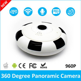 camera security wireless Canada - 360 Degree WiFi IP Camera Home Security Camera 960P Night Vision Infrared Two Way Audio Baby Monitor Wireless Network For Free Shipping