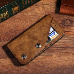 $enCountryForm.capitalKeyWord NZ - For iPhone X XS Max XR 8 7 6 6S Plus Vintage Retro Flip Stand Wallet Leather Case With Photo Frame Phone Cover For Samsung Galaxy S9 S8 Plus