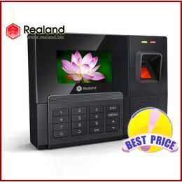 Vente en gros Enregistreur de présence de temps d'empreinte digitale Horloge ZDC201T TCP / IP MEILLEURE VALEUR Économie Livraison Gratuite