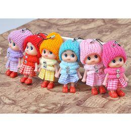 $enCountryForm.capitalKeyWord Canada - 100Pcs lot Kawaii Fashion Girls Toys Baby Dolls Interactive Beautiful Handmade Princess Dancing Girls Wedding Gifts For Girl 100Pcs Lot 040