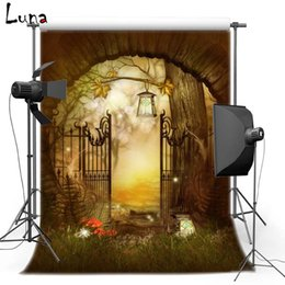Halloween pHotograpHy backdrops online shopping - 5X7ft x220cm Halloween party for Door Vinyl Photography Background Backdrops backgrounds for photo studio HA186