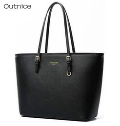 Discount sac main marque femme - Big Tote Shoulder Bags Luxury Handbags Women Bags Designer PU Leather Top-handle Bags Sac a Main Femme de Marque