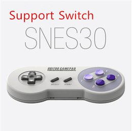 $enCountryForm.capitalKeyWord Canada - New 8bitdo SFC30 PRO Wireless Bluetooth SNES30 Controller usb for ios Android gamepad tablet PC Mac Linux support Switch gamepad
