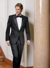 Dark Green Tie Grey Suit Australia - New Arrival Customized Mens Suit for wedding Jacket+Pants+Tie men Tuxedos Best men suits factory custom two-piece
