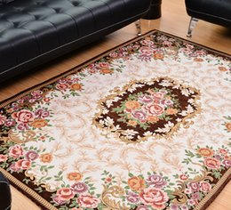 2m 29m New Fashion Trends European And American Carpet Living Room Sofa Bedroom Coffee Table Mat Embroidered Mats Deals