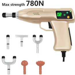 Dispositivo Masajeador Eléctrico Baratos-NUEVO 780N Chiropractic Adjusting Instrument Spinal rehabilitación Dispositivo ajustable de la terapia de la espina dorsal, Electric Correction Gun Activator Massager