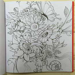 Love Secret Coloring Book For Adult Kids Children Antistress Colouring Quiet Magic Color Drawing 2525cm 108 Pages