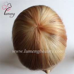 $enCountryForm.capitalKeyWord Canada - Factory customize highlight color women hairpiece hair replacement hair toupee