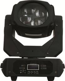 Al por mayor-Nueva llegada 4 * 25W de alto brillo RGBW llevó la cabeza móvil de luz LED súper haz cabezas móviles