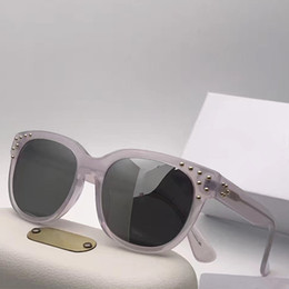 9243f2f0691 CL CE628S Luxury Fashion Women Brand Designer Sunglasses Hollow Out UV  Protection Lens Square Full Frame Black Tortoise Grey Pink With Case black  gradient ...