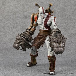toys kratos Canada - Neca God Of War 3Ghost Of Sparta Kratos Pvc Action Figure Collectible Model Toy 22Cm