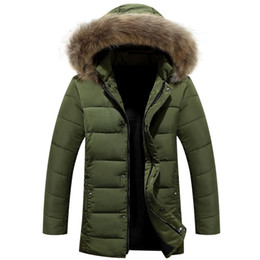 $enCountryForm.capitalKeyWord Canada - Wholesale- Men Winter Jacket New Men Warm Parka Thick Long Casual Jackets Men Down Outwear Comfortable Cotton Hooded Parka Plus Size M-4XL