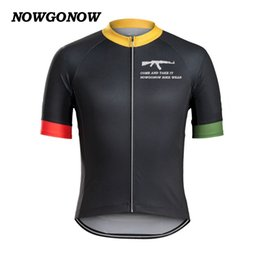 Boys Bike Bicycle Cycle Canada - Man 2017 cycling jersey summer clothing bike wear come and take it AK tops bicycle cool shirt black MTB road cool maillot ciclismo