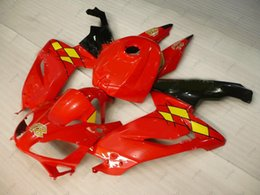 Rs 125 Abs Fairing Kit Canada - Fairing Kits RS 125 2008 ABS Fairing for Aprilia RS125 10 11 Red White Full Body Kits 2010 2006 - 2011