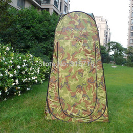 Chinese  Wholesale- Portable Privacy Shower Toilet Camping Pop Up Tent Camouflage UV function outdoor dressing tent photography tent manufacturers