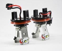 Bmw M3 Lights Canada - 1 Pair H8 20W 2x10W CREE 2LED*5W Angel Marker Eye Kit Y Shape Canbus Error Free Lamp Halo Headlight For BMW E90 E92 M3 E60 E70 X5 E71 X6 E82