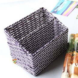 $enCountryForm.capitalKeyWord Canada - Home Decoration Creative Pastoral Wicker Baskets Sundry Receiver Rattan Stationery Storage Box Sundry Organzier Fruit Holder 20*15*15cm