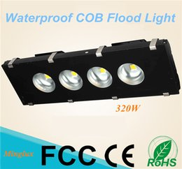 lamp 85 lumen Canada - Hot Selling 320W COB Floodlights High Lumen Big Beam Angle 120 Degree LED Flood Lamps for Tunnel Highway Gas Station and Landscape Lighting